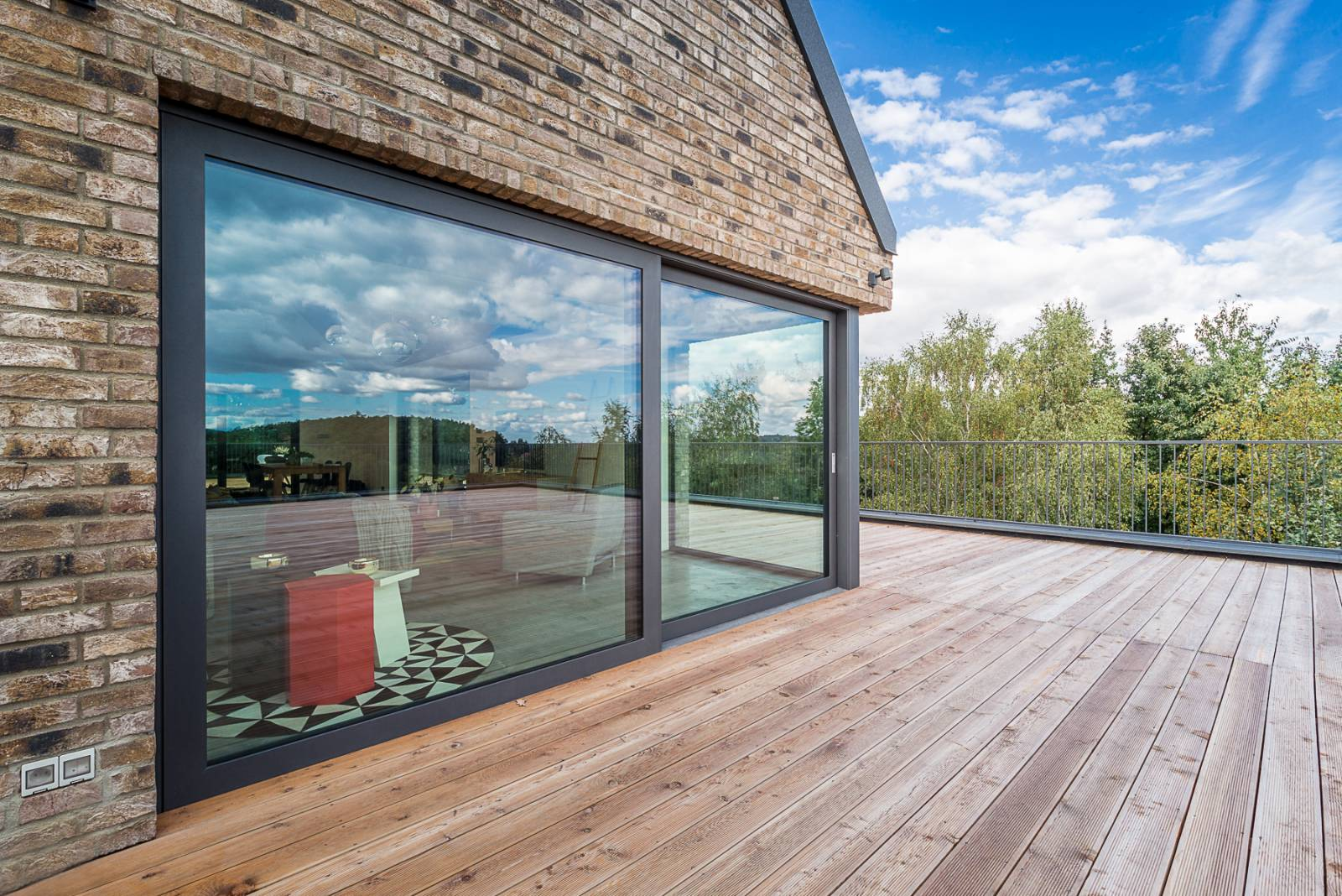Baie vitr e d 39 angle sur aix en provence ac structures - Baie vitree d angle ...
